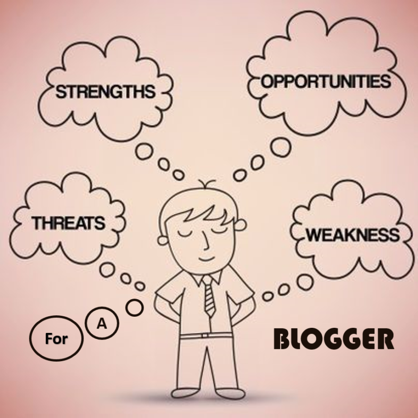 Strength Weakness Opportunity and Threats For a Blogger